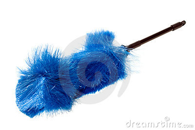Blue Dust Brush, Fanned