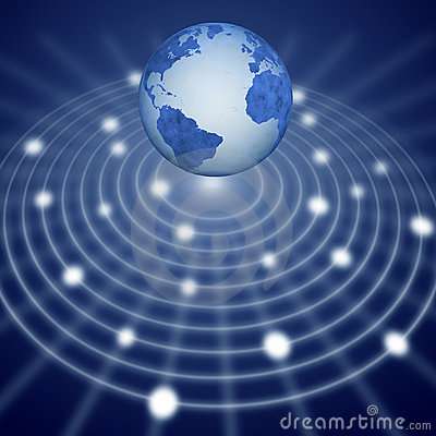 Blue earth communication network system