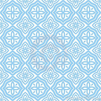 Free Blue East Patterns Stock Images - 9958834