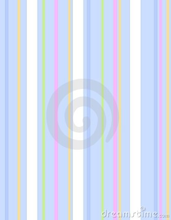 Blue Easter Stripes Pattern Background