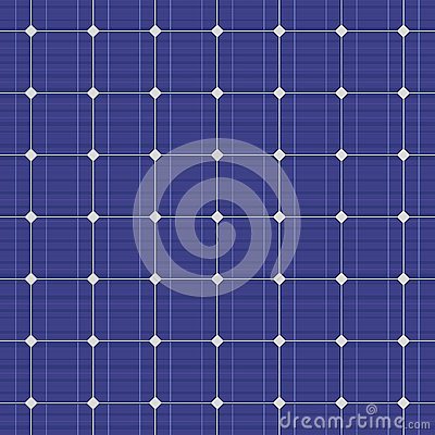Free Blue Electric Solar Panel Seamless Pattern. Vector Royalty Free Stock Photography - 46907917