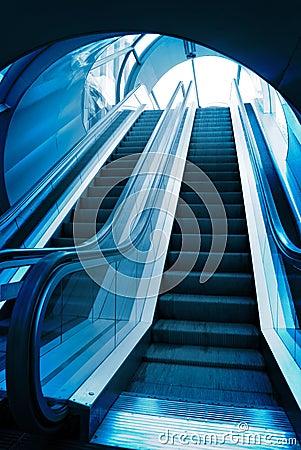 Blue elevator elevators