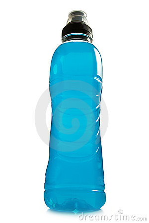 Free Blue Energy Drink Royalty Free Stock Photos - 17234368