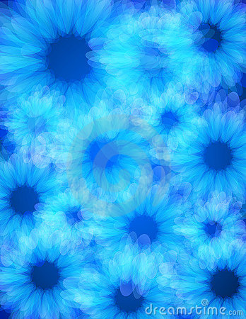 Blue energy light background