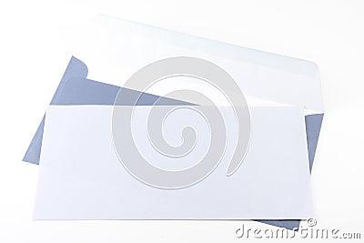 Blue envelop