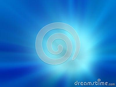 Blue exploded background