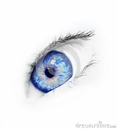 Free Blue Eye Royalty Free Stock Photo - 1353695