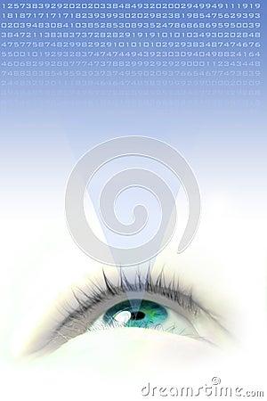 Free Blue Eye Stock Photo - 1594680