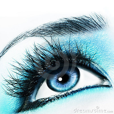 Free Blue Eye Royalty Free Stock Photos - 6551668