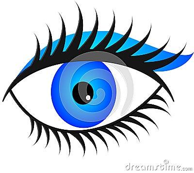 Blue eye light