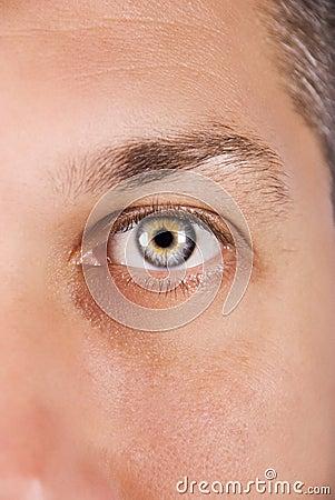 Free Blue Eye Man Stock Photography - 10757372
