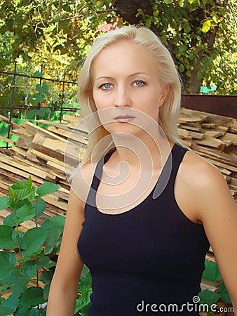 Blue-eyed blonde