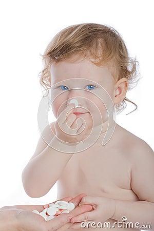 Free Blue-eyed Child Stock Image - 6697541