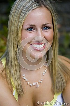 Free Blue Eyes Big Smile Too Royalty Free Stock Photos - 1169638