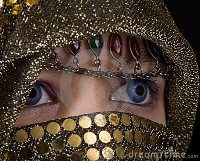Blue eyes Orient