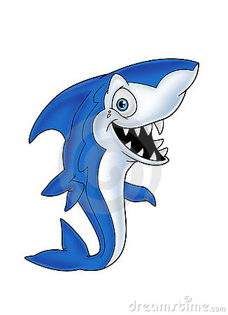 Blue fish Shark 1