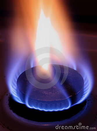 Free Blue Flame Of Gas Stock Images - 7792614