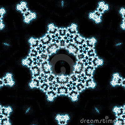 Free Blue Flames Kaleidoscope Stock Photography - 3617132