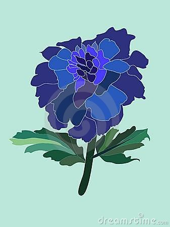 Free Blue Flower Stock Image - 13528371
