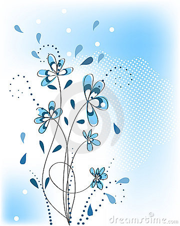 Blue Flowers Stock Photos - Image: 18820813