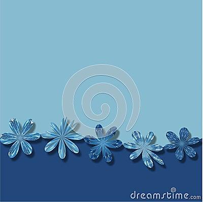 frame wallpaper. BLUE FLOWERS FRAME WALLPAPER