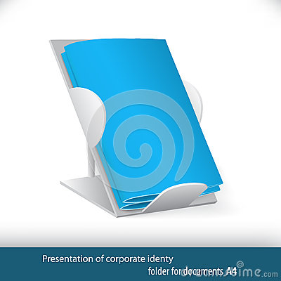 Free Blue Folders For Office And Business Royalty Free Stock Images - 63545789
