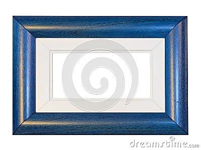 Blue frame panorama
