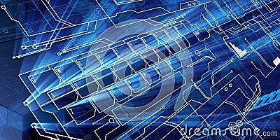 Blue Future Keyboard