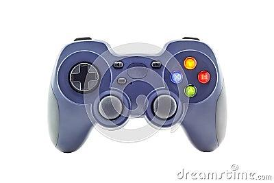 Blue game controller