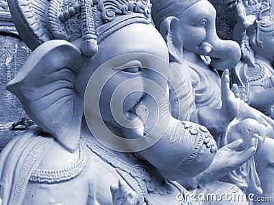 Blue Ganesha