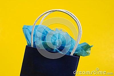 Blue Giftbag