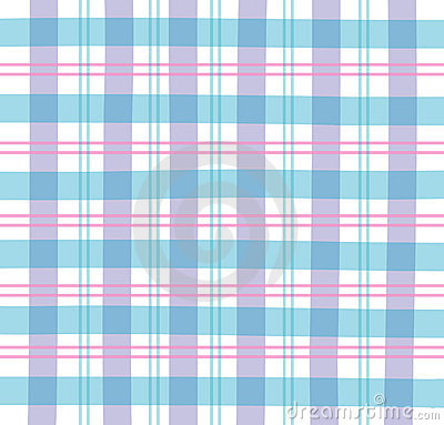 Blue Gingham Plaid