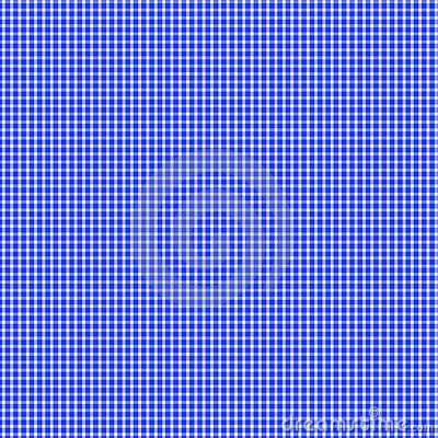 Blue Gingham Seamless Pattern