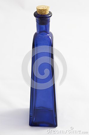 Free Blue Glass Bottle Stock Photo - 92368630