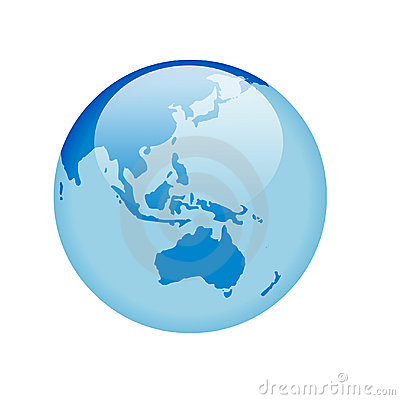 Free Blue Glass Globe Stock Images - 1064204