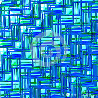 Free Blue Glass Texture. Abstract Geometric Pattern. Creative Background Design. Retro Style Illustration. Digital Art Graphic. Stock Image - 52651451