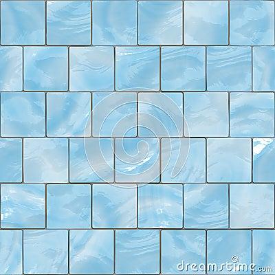 Glass Tile Blue Texture Blue Shiny Glass Tiles