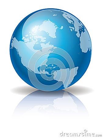 Blue Globe 3