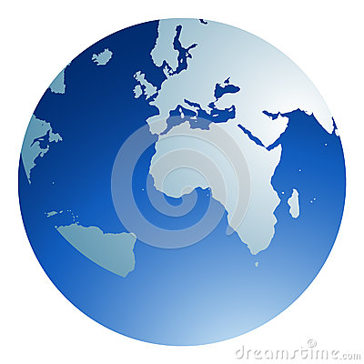 Free Blue Globe Royalty Free Stock Photo - 41897165