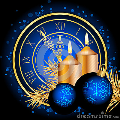 Blue and gold christmas background stock image image for Blue and gold christmas