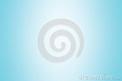 Blue gradient background color soft light, gradient blue soft bright wallpaper beautiful, blue picture gradient hue soft blur Stock Photo
