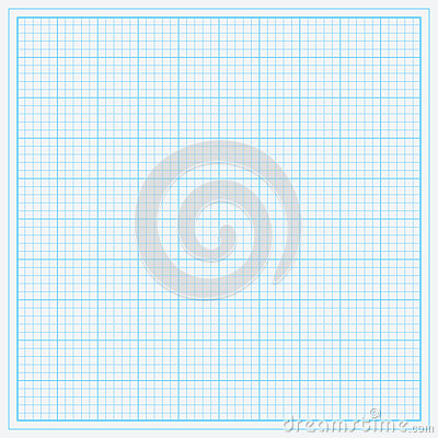 Free Blue Graph Paper Stock Photography - 55932822
