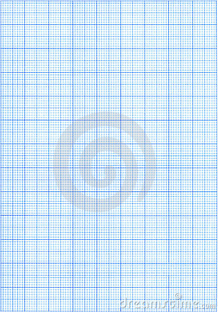 Free Blue Graph Paper Royalty Free Stock Photo - 6059055