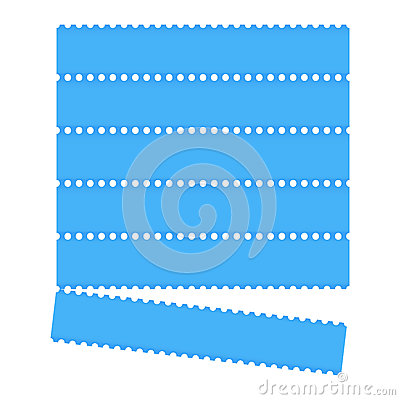 Blue graphic bar