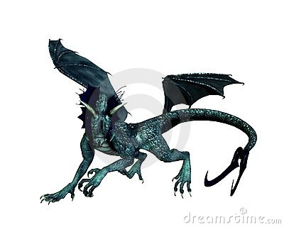 Blue-green Dragon - 2