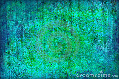 Blue-green grunge background