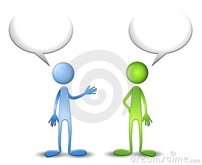 Blue and Green Have a Talk