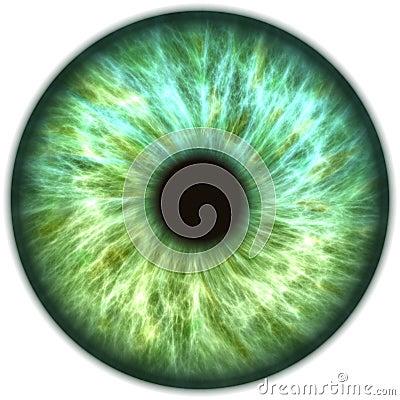 Free Blue Green Iris Eye Royalty Free Stock Photos - 95920738