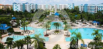 Blue green resort located on international drive in orlando florida