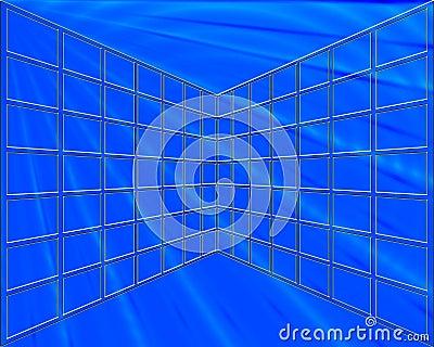 Blue Grid